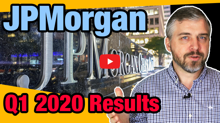 JPMorgan Chase Q1 Earnings [Q1 2020] - Youtube Link