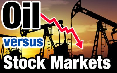 OIL PRICE CRASH vs. STOCK MARKETS: Why falling oil prices drive the stock market down?
