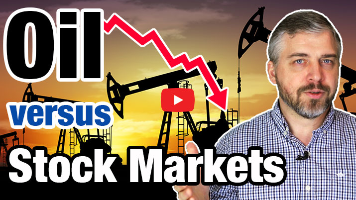 OIL PRICE CRASH vs. STOCK MARKETS: Why falling oil prices drive the stock market down? 1