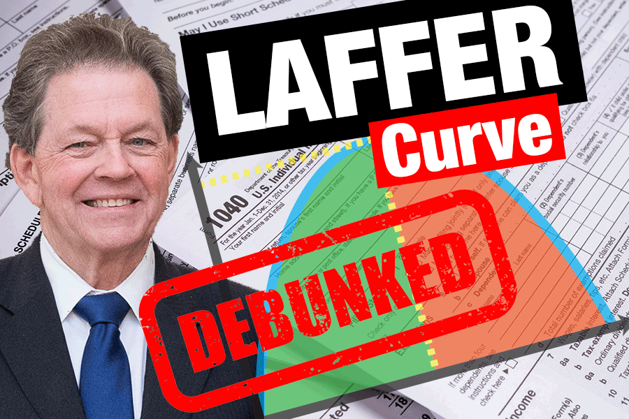 Laffer Curve Explained and Debunked!